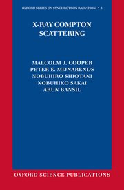 Cover for   X-Ray Compton Scattering