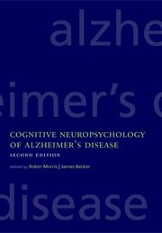 Cover for   Cognitive Neuropsychology of Alzheimers Disease