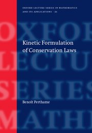 Cover for   Kinetic Formulation of Conservation Laws