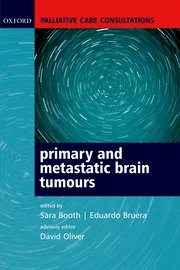 Cover for   Palliative Care Consultations in Primary and Metastatic Brain Tumours