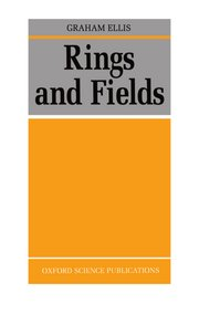 Cover for   Rings and Fields