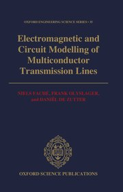 Cover for   Electromagnetic and Circuit Modelling of Multiconductor Transmission Lines