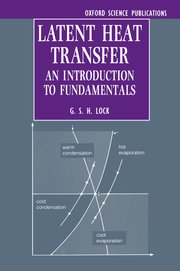 Cover for   Latent Heat Transfer