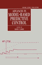 Cover for   Advances in Model-Based Predictive Control
