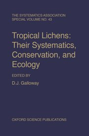 Cover for   Tropical Lichens