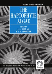 Cover for   The Haptophyte Algae