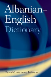 Cover for   Oxford Albanian-English Dictionary