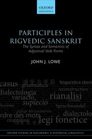 Cover for   Participles in Rigvedic Sanskrit