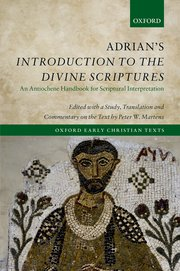 Cover for   Adrians Introduction to the Divine Scriptures
