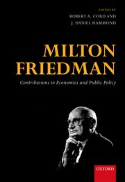 Cover for   Milton Friedman