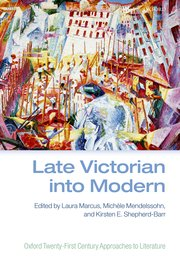 Cover for Late Victorian into Modern