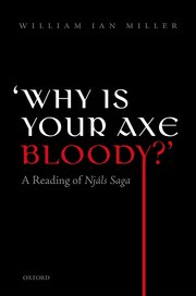 Cover for   Why is your axe bloody?