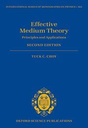 Cover for   Effective Medium Theory