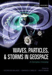 Cover for   Waves, Particles, and Storms in Geospace