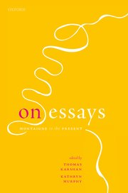 Cover for   On Essays