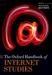 Cover for   The Oxford Handbook of Internet Studies