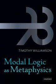 Cover for   Modal Logic as Metaphysics