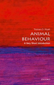 Cover for   Animal Behaviour: A Very Short Introduction