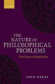 Cover for   The Nature of Philosophical Problems