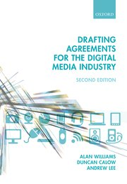 Cover for   Drafting Agreements for the Digital Media Industry