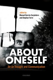 Cover for   About Oneself