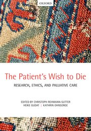 Cover for   The Patients Wish to Die