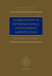 Cover for   Corruption in International Investment Arbitration