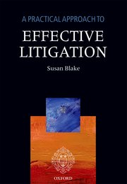 Cover for   A Practical Approach to Effective Litigation