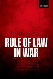 Cover for   Rule of Law in War