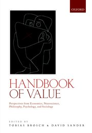 Cover for   Handbook of Value