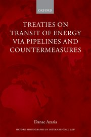 Cover for   Treaties on Transit of Energy  via Pipelines and Countermeasures