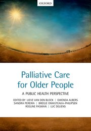 Cover for   Palliative care for older people