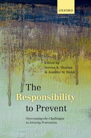 Cover for   The Responsibility to Prevent