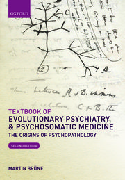 Cover for   Textbook of Evolutionary Psychiatry and Psychosomatic Medicine