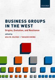 Cover for   Business Groups in the West