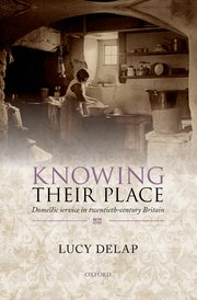 Cover for   Knowing Their Place