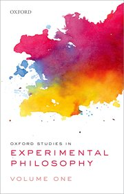 Cover for   Oxford Studies in Experimental Philosophy, Volume 1