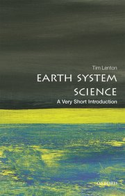 Cover for   Earth System Science: A Very Short Introduction