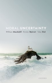 Cover for   Moral Uncertainty