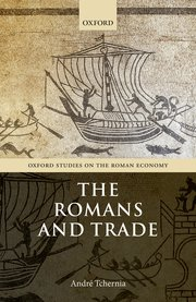 Cover for   The Romans and Trade