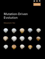 Cover for   Mutation-Driven Evolution