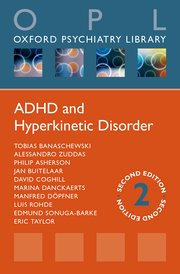 Cover for   ADHD and Hyperkinetic Disorder