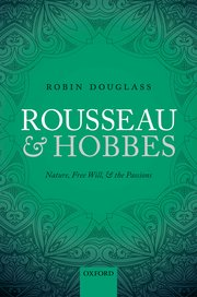 Cover for   Rousseau and Hobbes