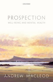 Cover for   Prospection, well-being, and mental health