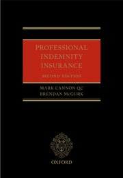 Cover for   Professional Indemnity Insurance