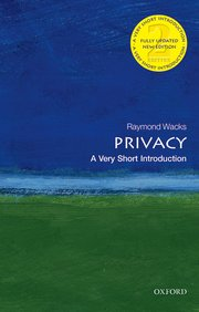 Cover for   Privacy: A Very Short Introduction