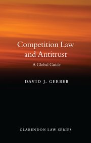 Cover for   Competition Law and Antitrust