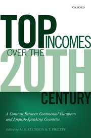 Cover for   Top Incomes over the Twentieth Century