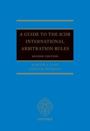 Cover for   A Guide to the ICDR International Arbitration Rules