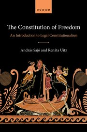Cover for   The Constitution of Freedom